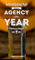 Small Ad Agency of Year - Southeast Region